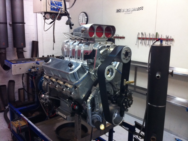509 Big Block Chev Burnout Engine